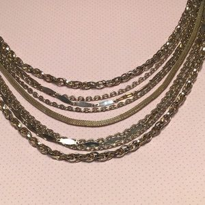 Vintage Gold strand Necklace PUCCINI glam ✨